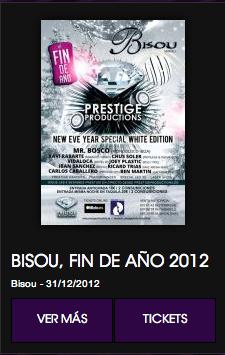 Fin de año en Bisou Sabadell.