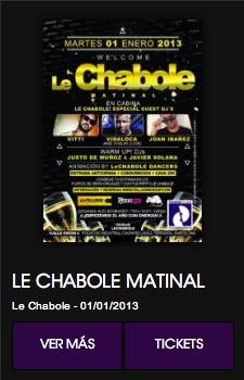 Le Chabole Matinal en Terrassa. Sesión after hours!
