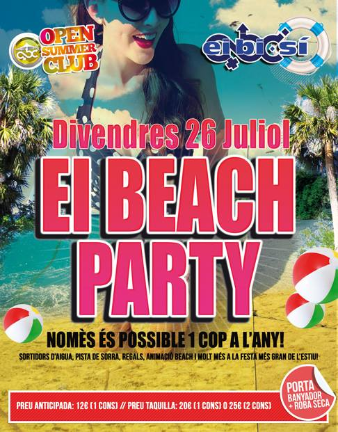Ei Beach Party dia 26 2