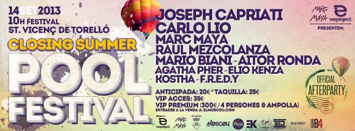 Pool Festival dia 14