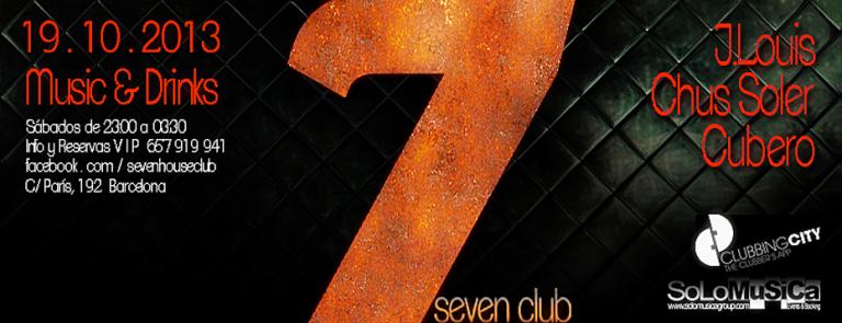 Seven Club, sábados noche
