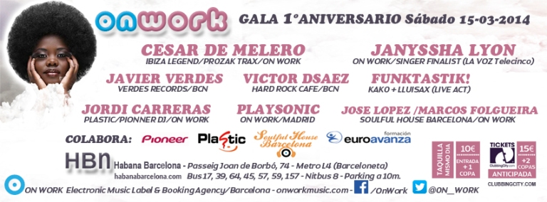 On Work 1º Aniversario