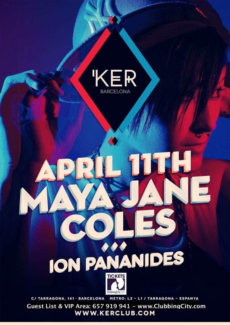 KER presents: Maya Jane Coles