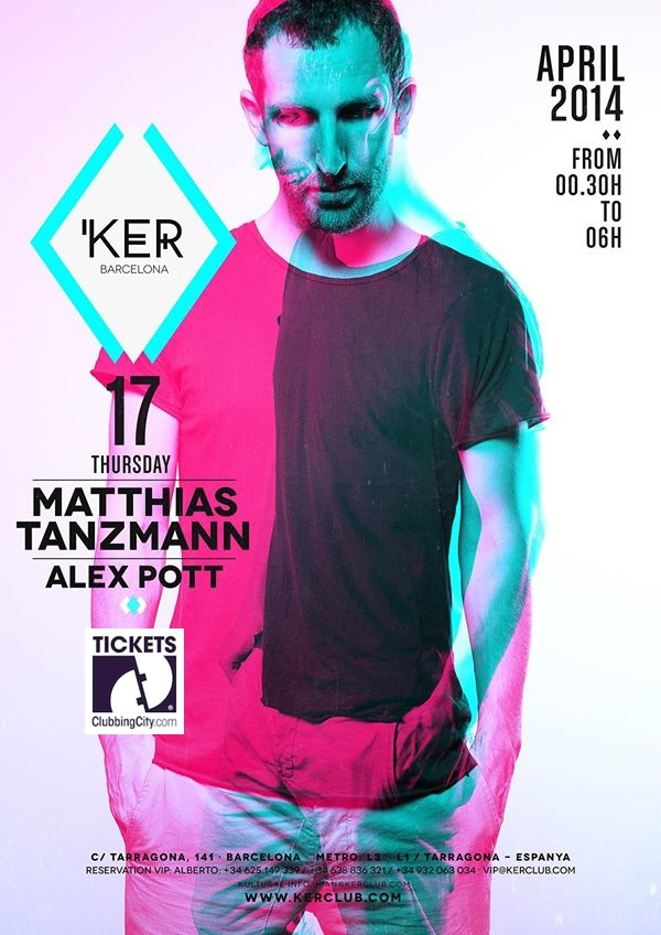 KER presents: Matthias Tanzmann.