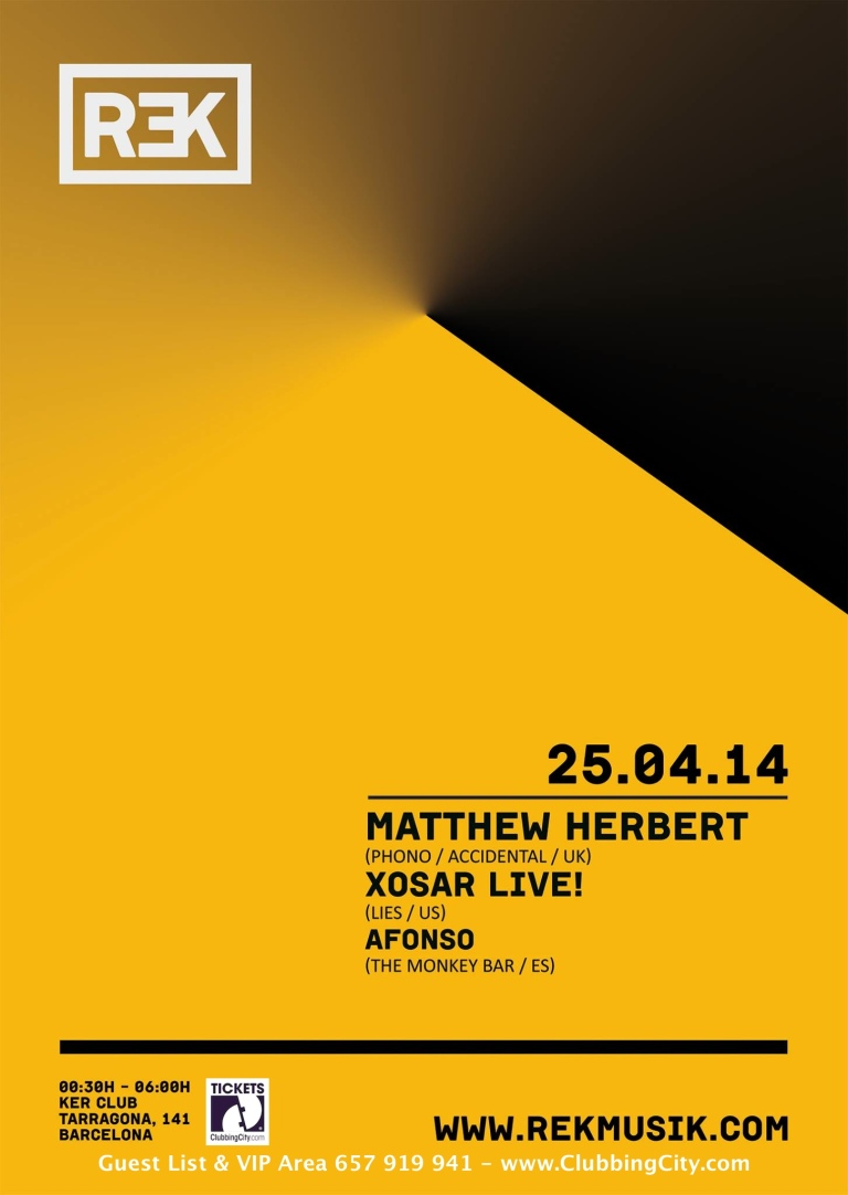 KER presents: Matthew Herbert