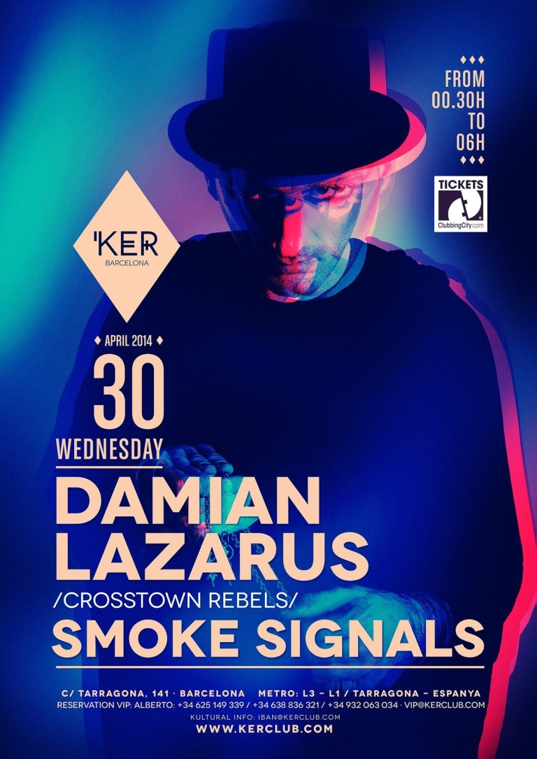 KER Presents: Damian Lazarus