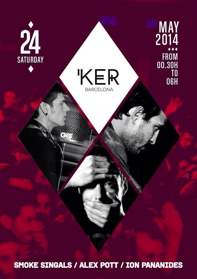 KER Presenta, resident night! Sábado 24 de mayo.