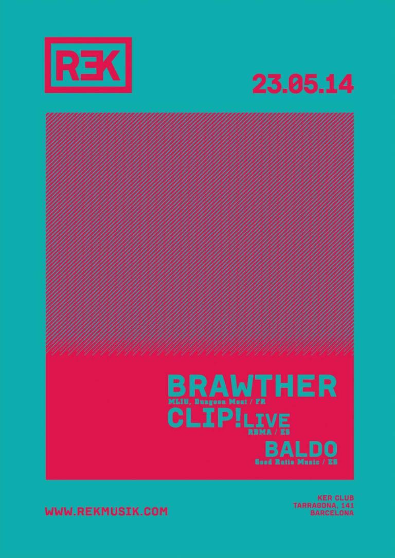 KER presenta: REK con Brawther. Lista de invitados - Guest List