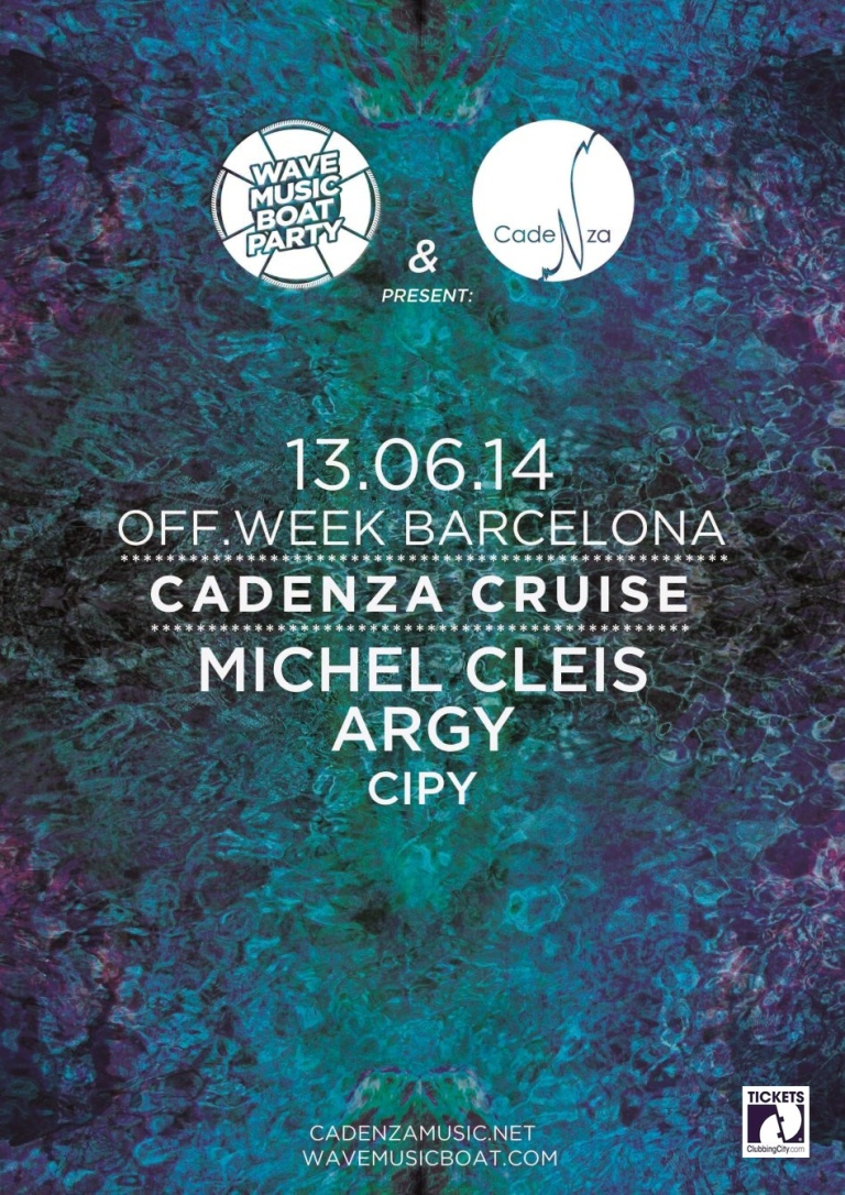 Wave Music Boat Party, OFF WEEK, Cadenza Cruise!